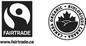 Certified organic and Fairtrade coffees