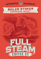 Boiler Stoker - Espresso Roast - Authentic Seacoast Full Steam Coffee Company