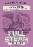 Even Keel - Decaf Medium Roast - Authentic Seacoast Full Steam Coffee Company