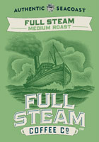 Full Steam - Medium Roast - Authentic Seacoast Full Steam Coffee Company