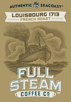 Louisbourg 1713 - French Roast - Authentic Seacoast Full Steam Coffee Company
