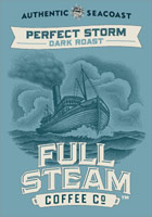 Perfect Storm - Dark Roast - Authentic Seacoast Full Steam Coffee Company
