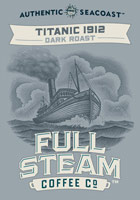Titanic 1912 - Dark Roast - Authentic Seacoast Full Steam Coffee Company